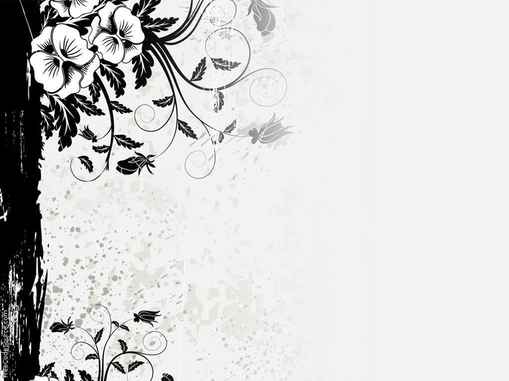 Free Download Grey Flower Twitter Backgrounds Grey Flower
