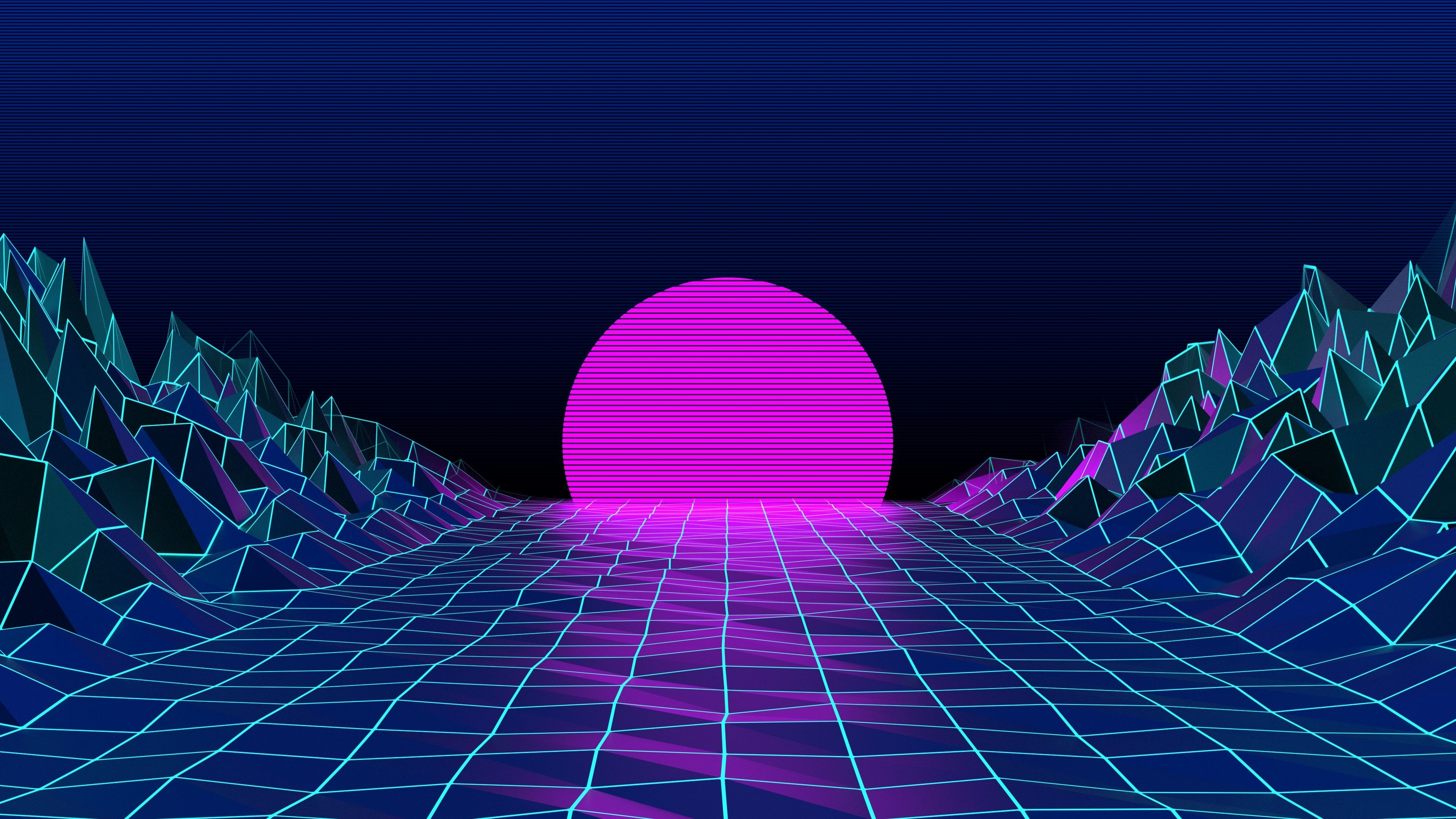 76 Neon 80S Wallpapers on WallpaperPlay 3840x2160