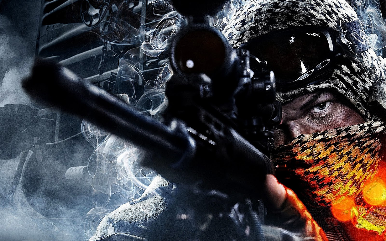 Battlefield Game HD Sniper Wallpaper 1600x1000