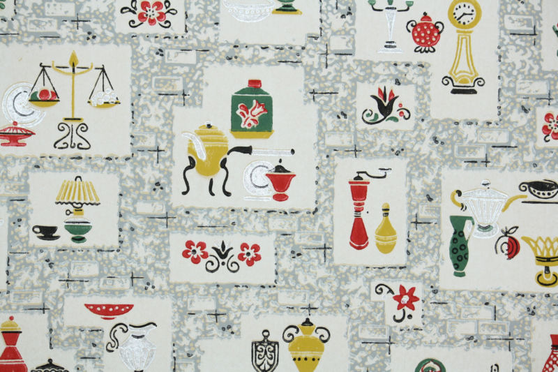 1940s Wallpaper For Sale Antiques and Collectibles Store 800x533