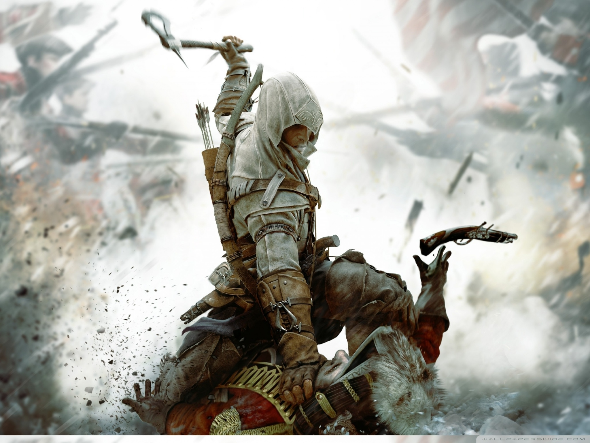 Free Download Assassins Creed Iii 4k Hd Desktop Wallpaper For 4k