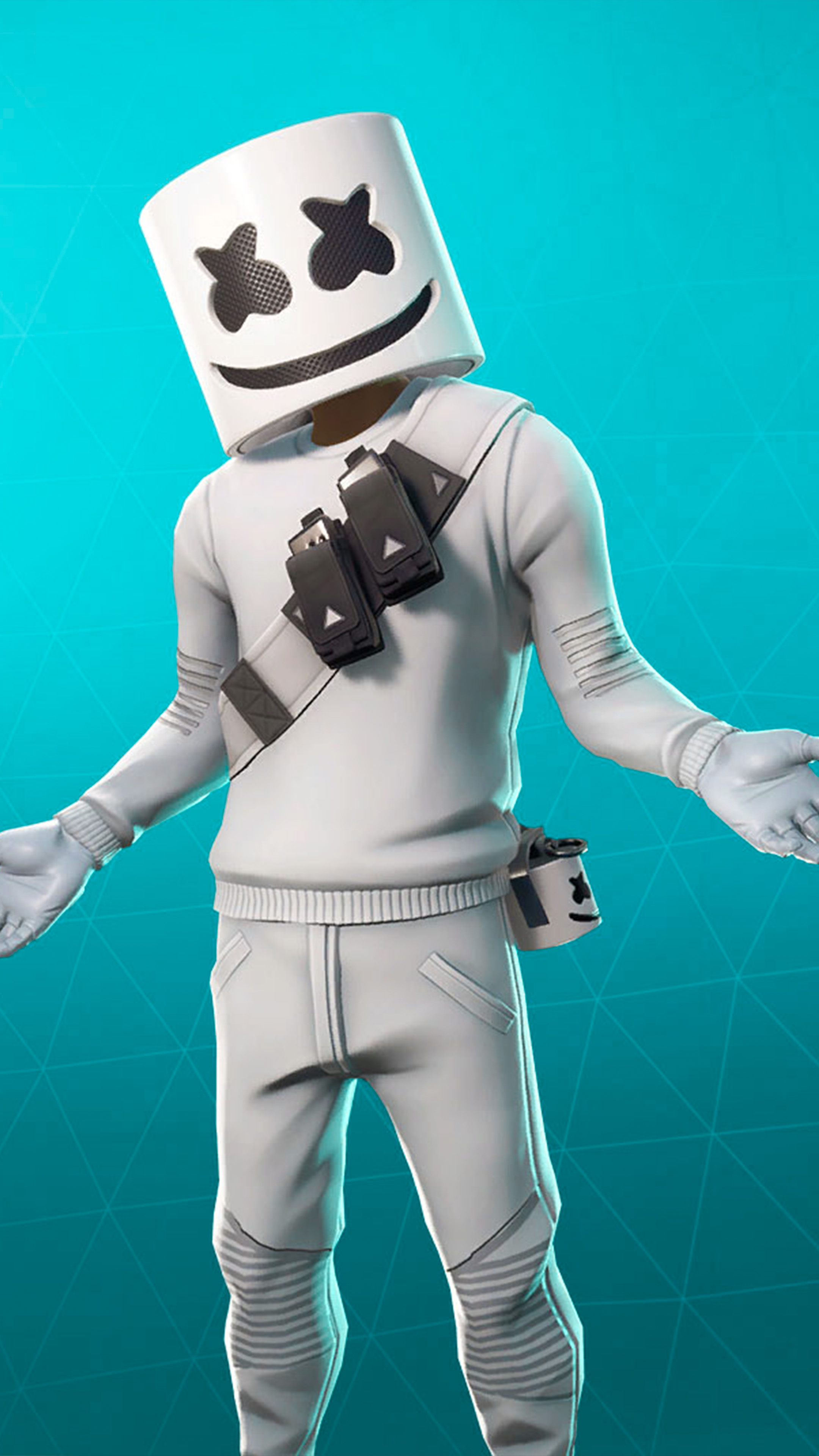 Free Download Download Marshmello Fortnite Skin Pure 4k Ultra Hd Mobile 2160x3840 For Your Desktop Mobile Tablet Explore 44 Share The Love Fortnite Wallpapers Share The Love Fortnite Wallpapers