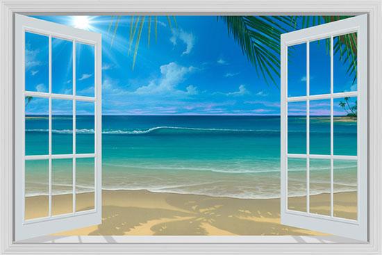44 Window Frame Wallpaper On Wallpapersafari