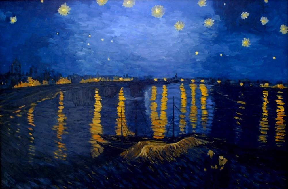 69 Starry Night Over The Rhone Wallpaper On Wallpapersafari