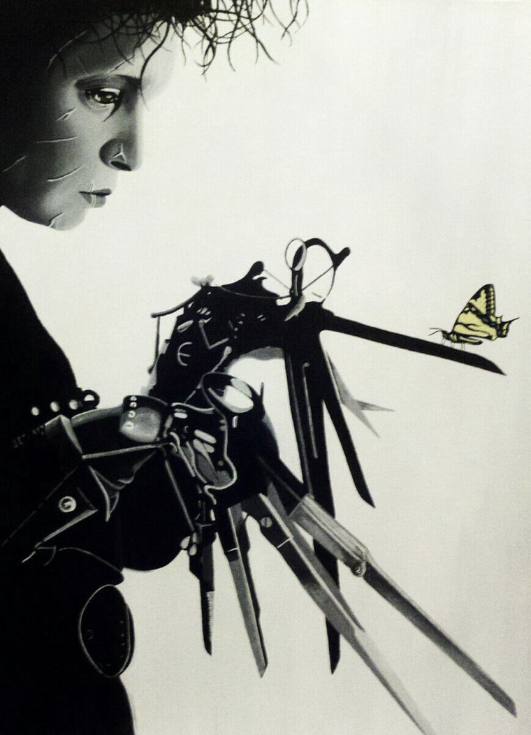 77 Edward Scissorhands Wallpaper On Wallpapersafari