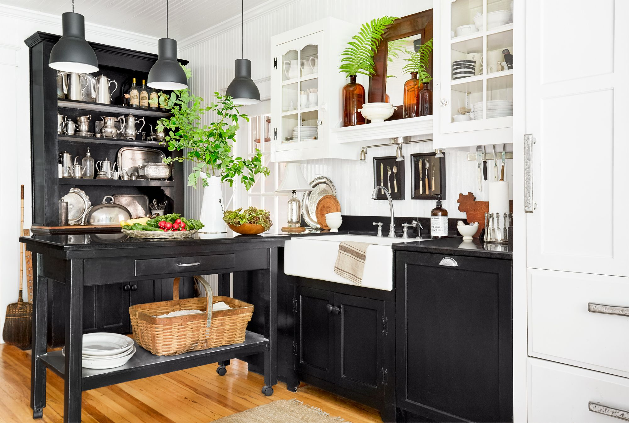 34 Farmhouse Style Kitchens   Rustic Decor Ideas for Kitchens 2000x1346