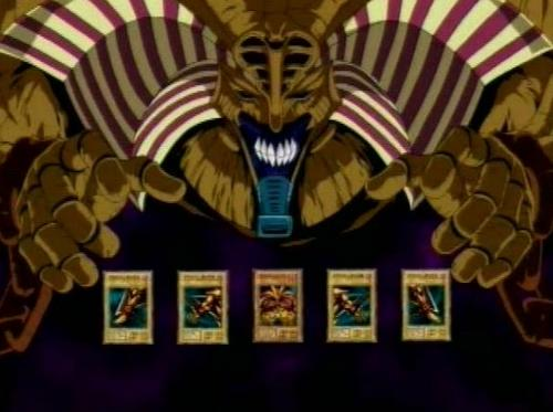 Forbidden One   Yu Gi Oh   Its time to Duel 500x373