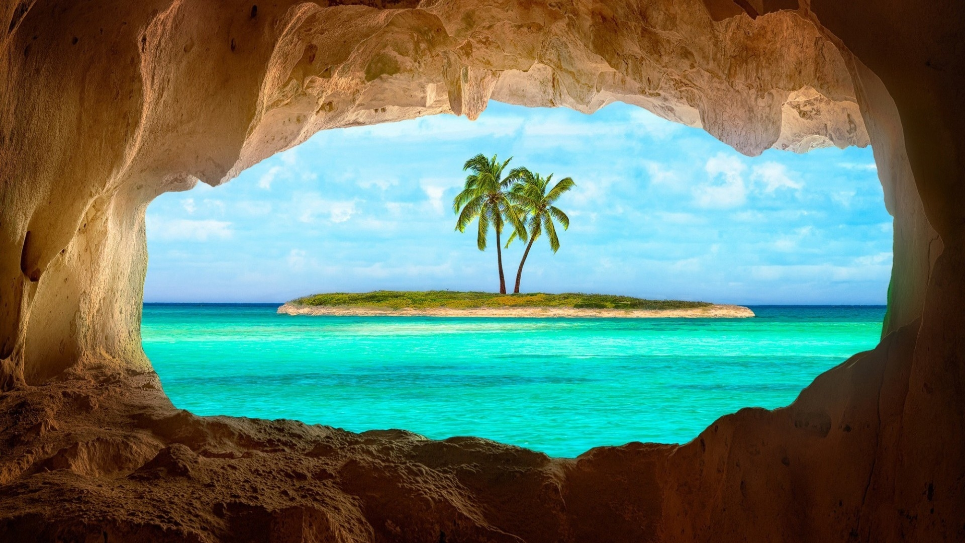 1920x1080 Caribbean Island desktop PC and Mac wallpaper 1920x1080