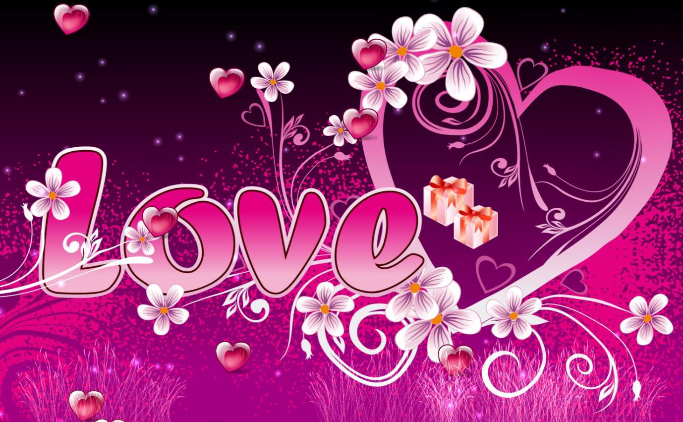 Valentine Animated Wallpaper HD Wallpaper 1378x851