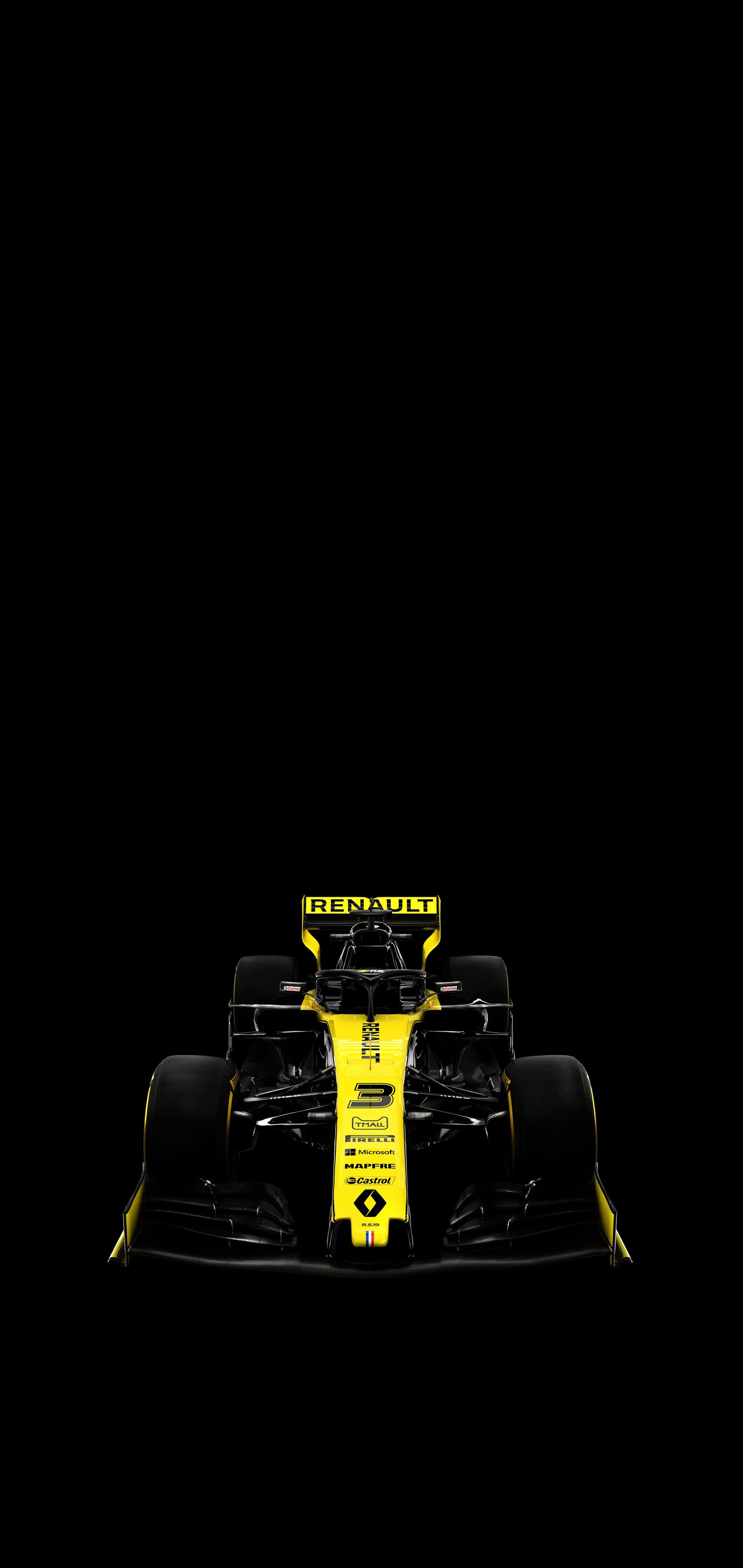 Daniel Ricciardos RS19 [AMOLED Mobile Wallpaper] formula1 2026x4276