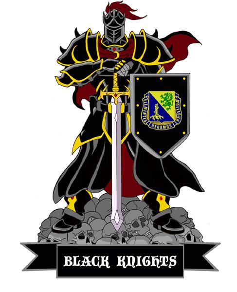 Black Knights Military Mascot by SlayerSyrena 487x600