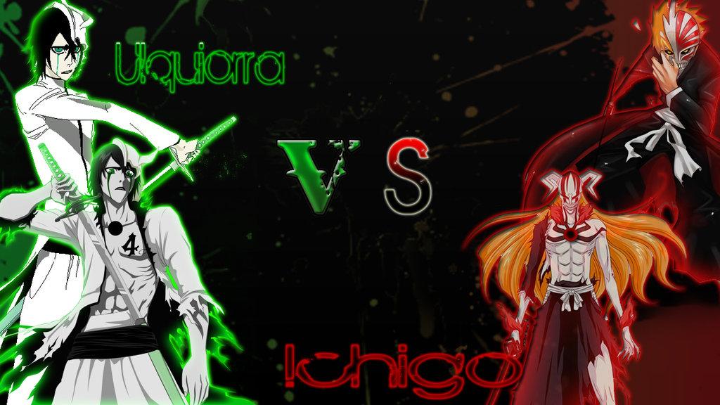 ichigo vs ulquiorra wallpaper wallpapersafari