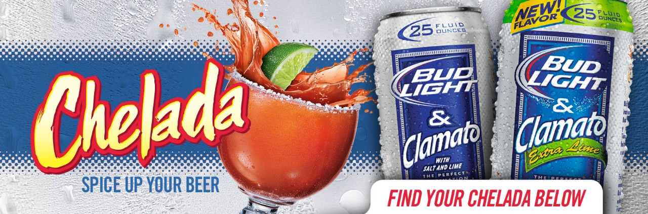Bud Light Chelada Wallpaper   Clamato Beer 1280x423