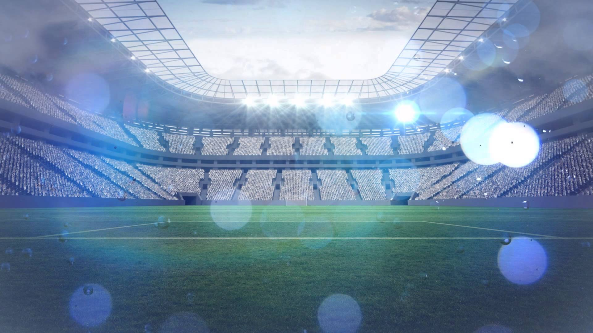 Soccer field  Footbull  Animated background 1920x1080