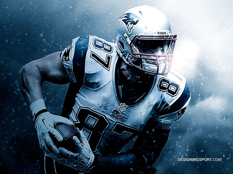 Rob Gronkowski New England Patriots NFL