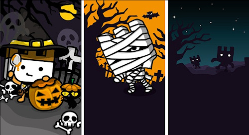 Wallpapers are a little spooky but mostly just cute Windows Central 500x271