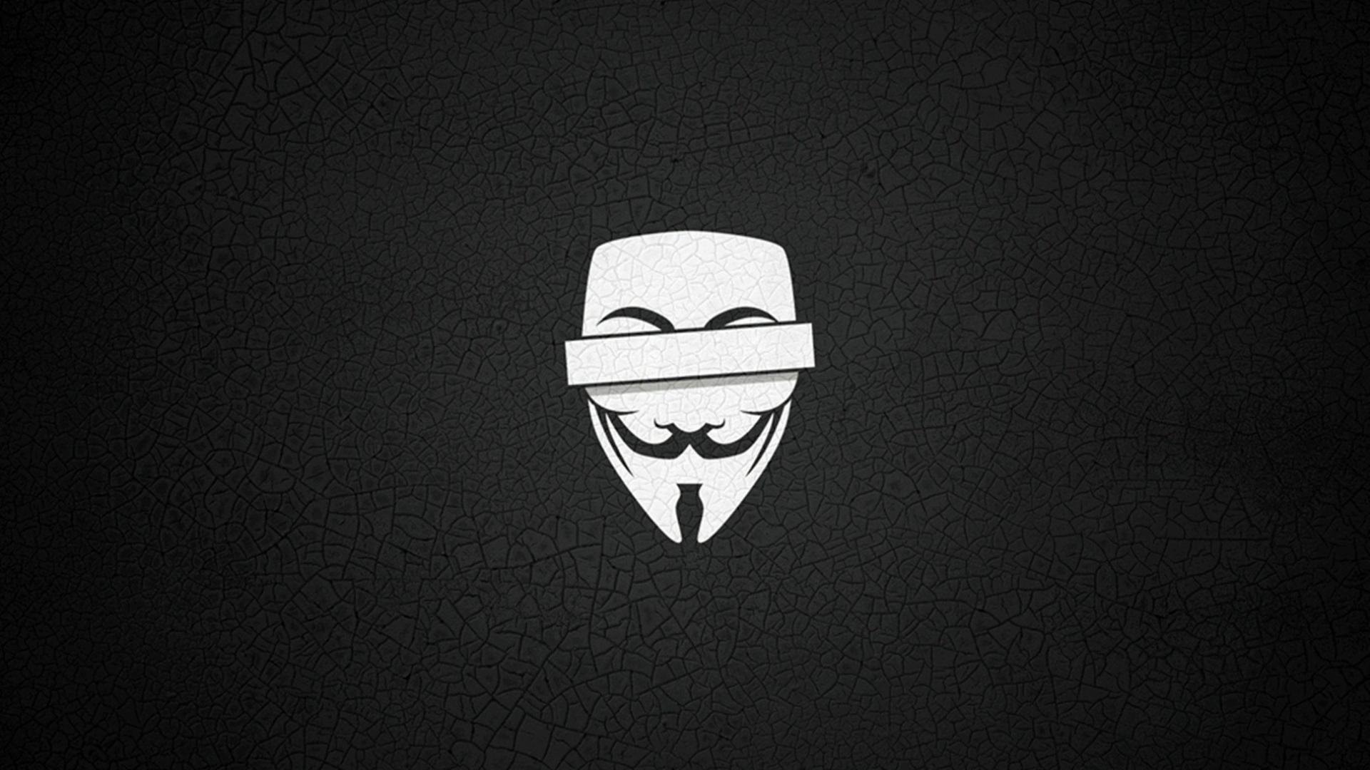 Anonymous simple background wallpaper 46353 1920x1080