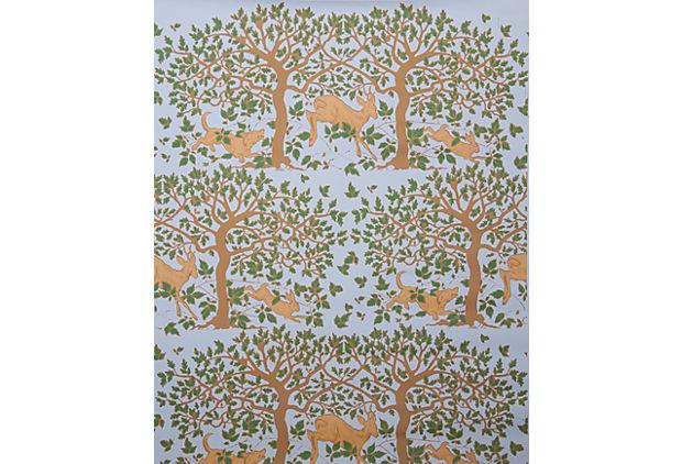 Enchanted Forest Wallpaper Sky Sheila Bridges One Kings Lane 620x422