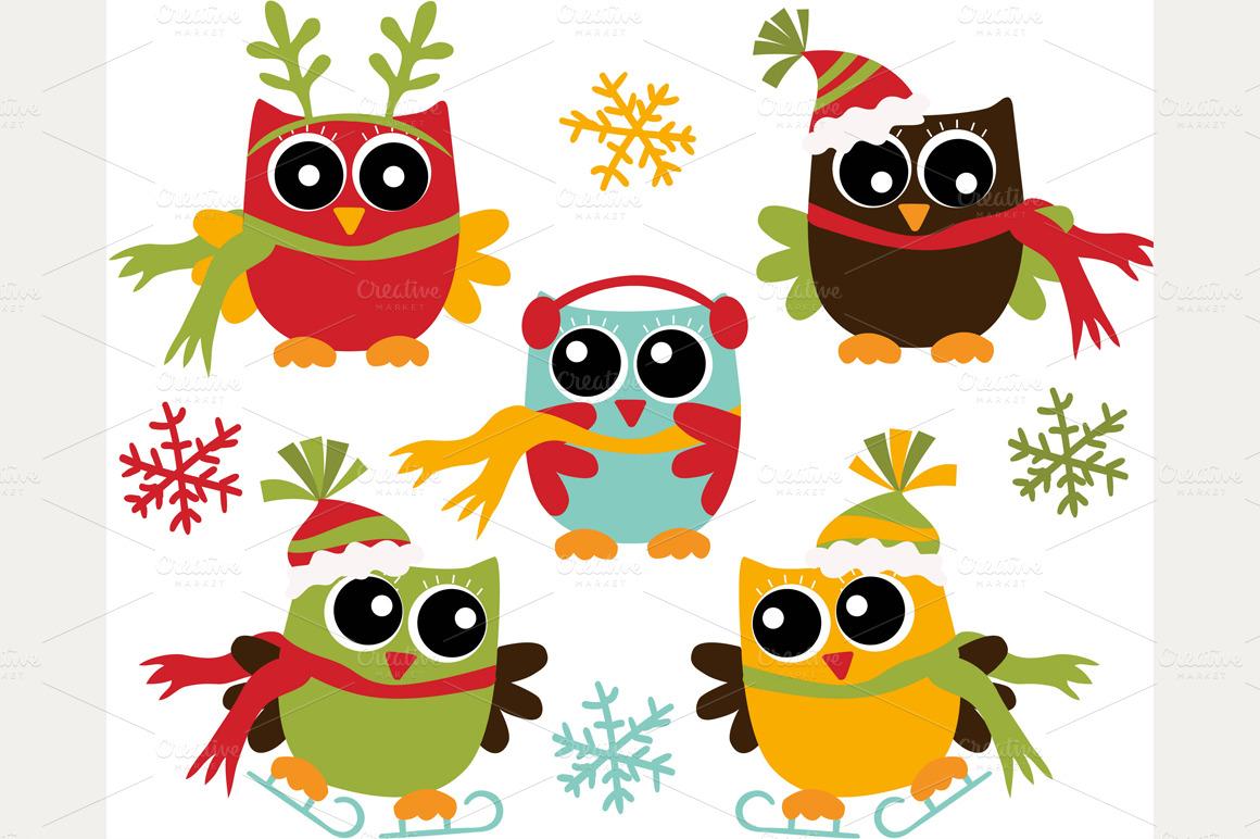 Removable Christmas Wall Stickers Owl Christmas Wallpaper Wallpapersafari