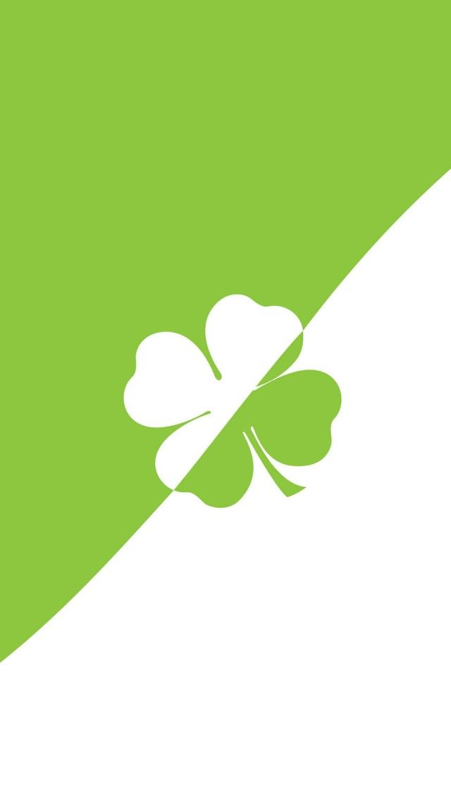 Lucky 4 Leaf Clover iPhone 5 Wallpaper St patricks day wallpaper 640x1136