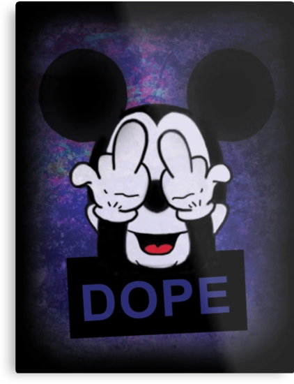 Mickey Mouse Dope Wallpaper Wallpapersafari