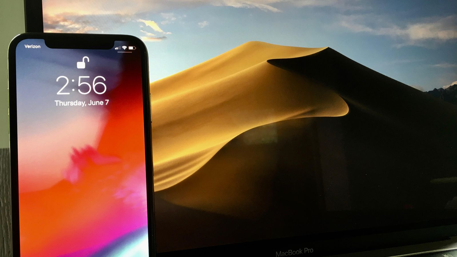 Get the iOS 12 and MacOS Mojave wallpapers right now   CNET 1600x900