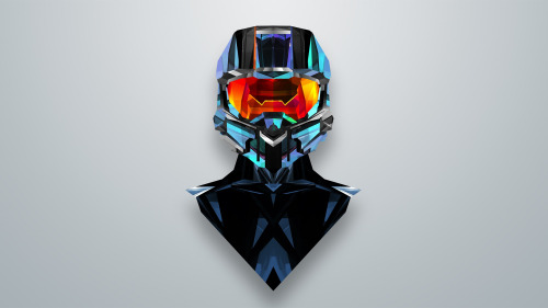 Amazing Master Chief Fan Art Wallpaper by Justin Maller x 500x281