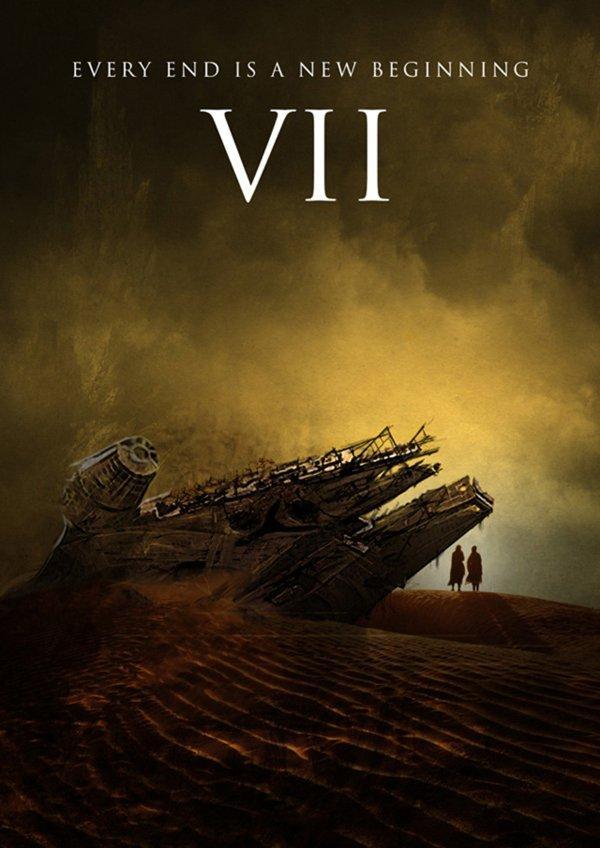 Episode VII star wars episode vii 7 movie poster wallpaper image 04 600x848