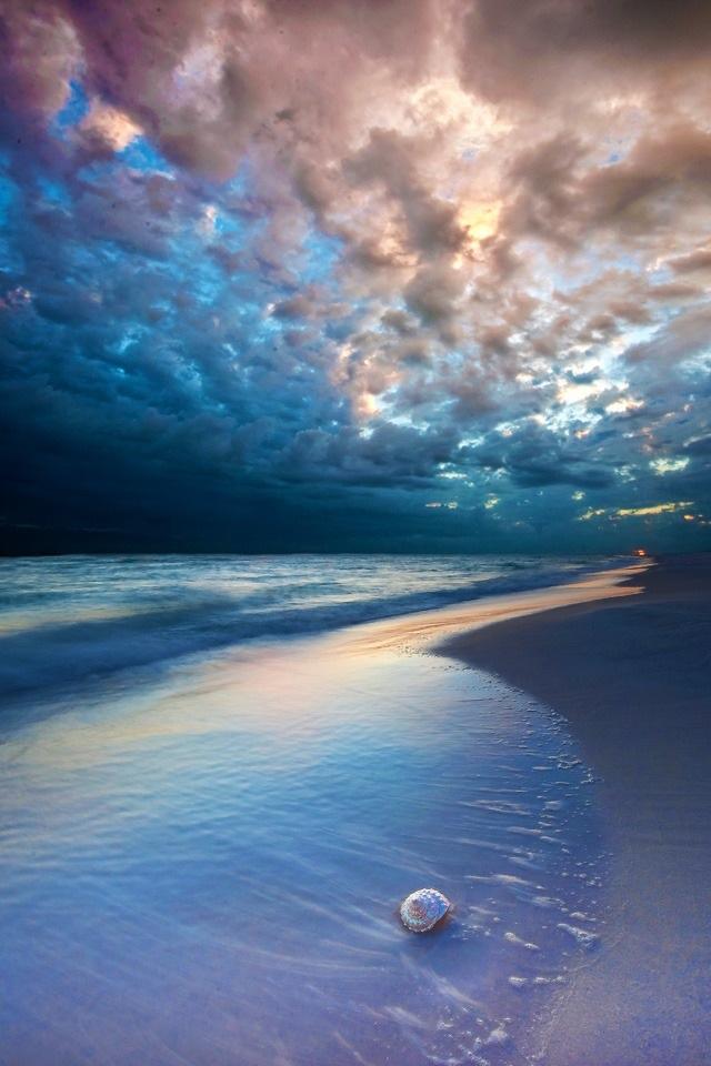Cosmic Beach iPhone 4s Wallpaper Download | iPhone Wallpapers, iPad ...