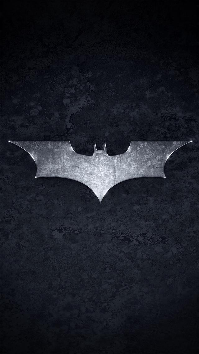 Related Pictures Batman Logo Iphone 5 Wallpaper 169x300 Batman Logo 640x1136