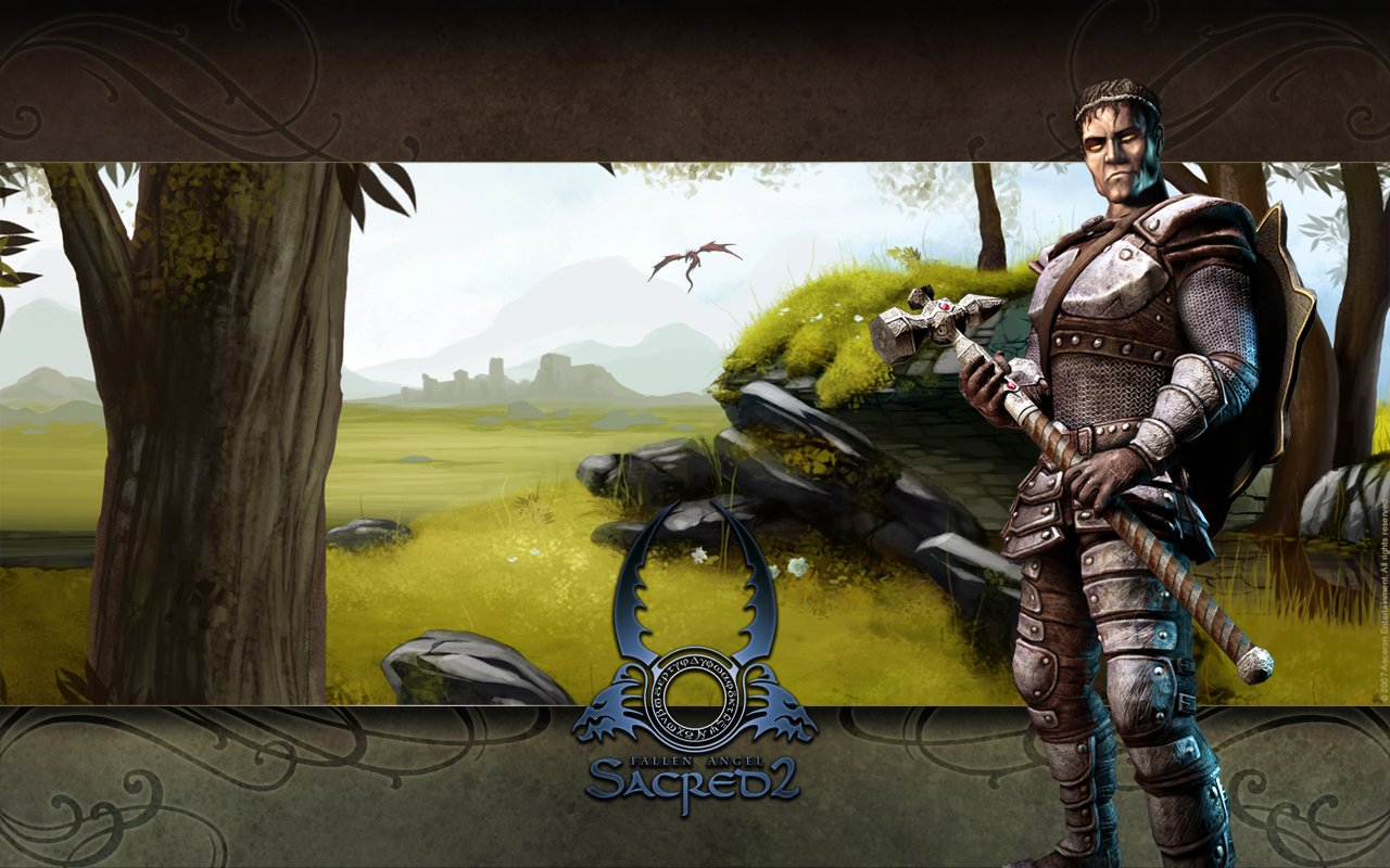 Sacred 2 Fallen Angel Fiche RPG reviews previews wallpapers 1280x800