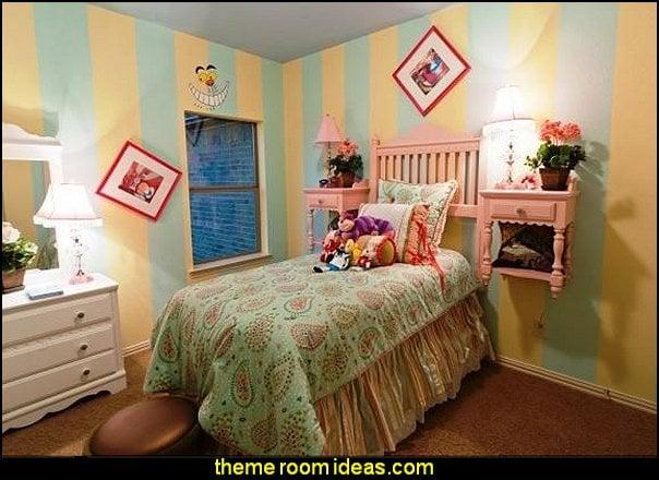 47 Alice In Wonderland Room Wallpaper On Wallpapersafari