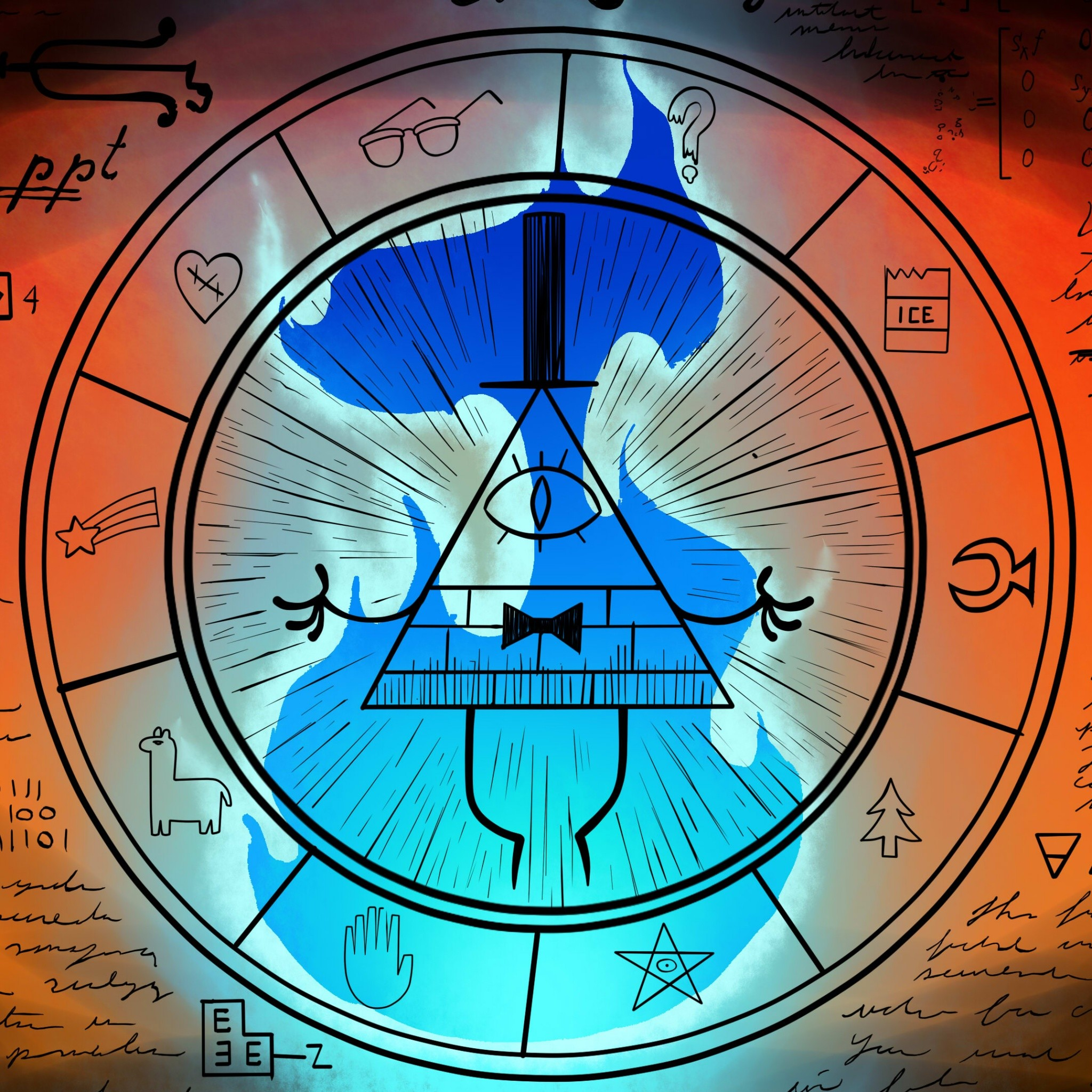Gravity Falls Bill Cipher Wallpaper 80 images 2048x2048