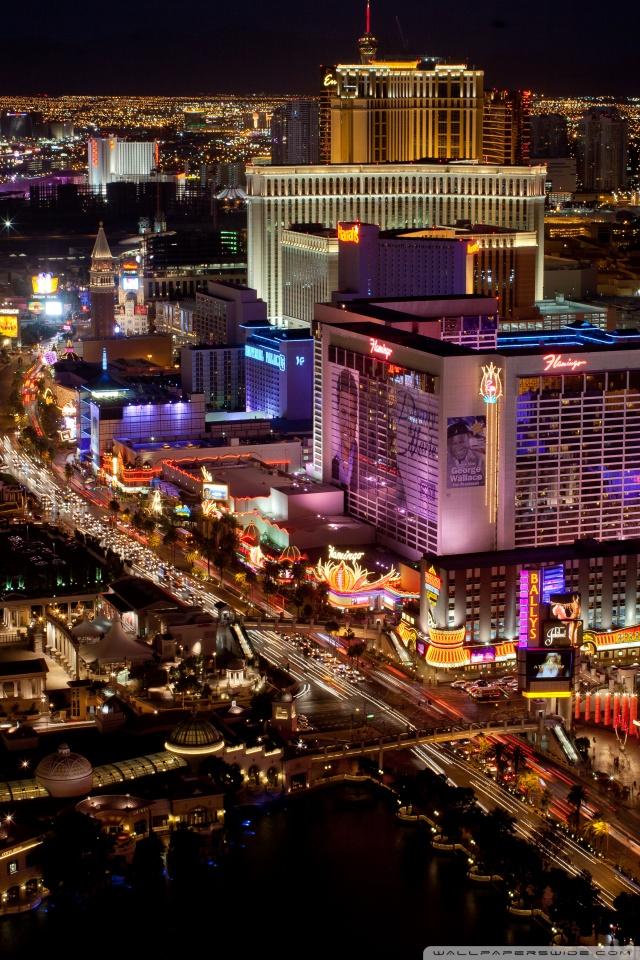 Las Vegas Strip Ultra HD Desktop Background Wallpaper for 4K UHD 640x960