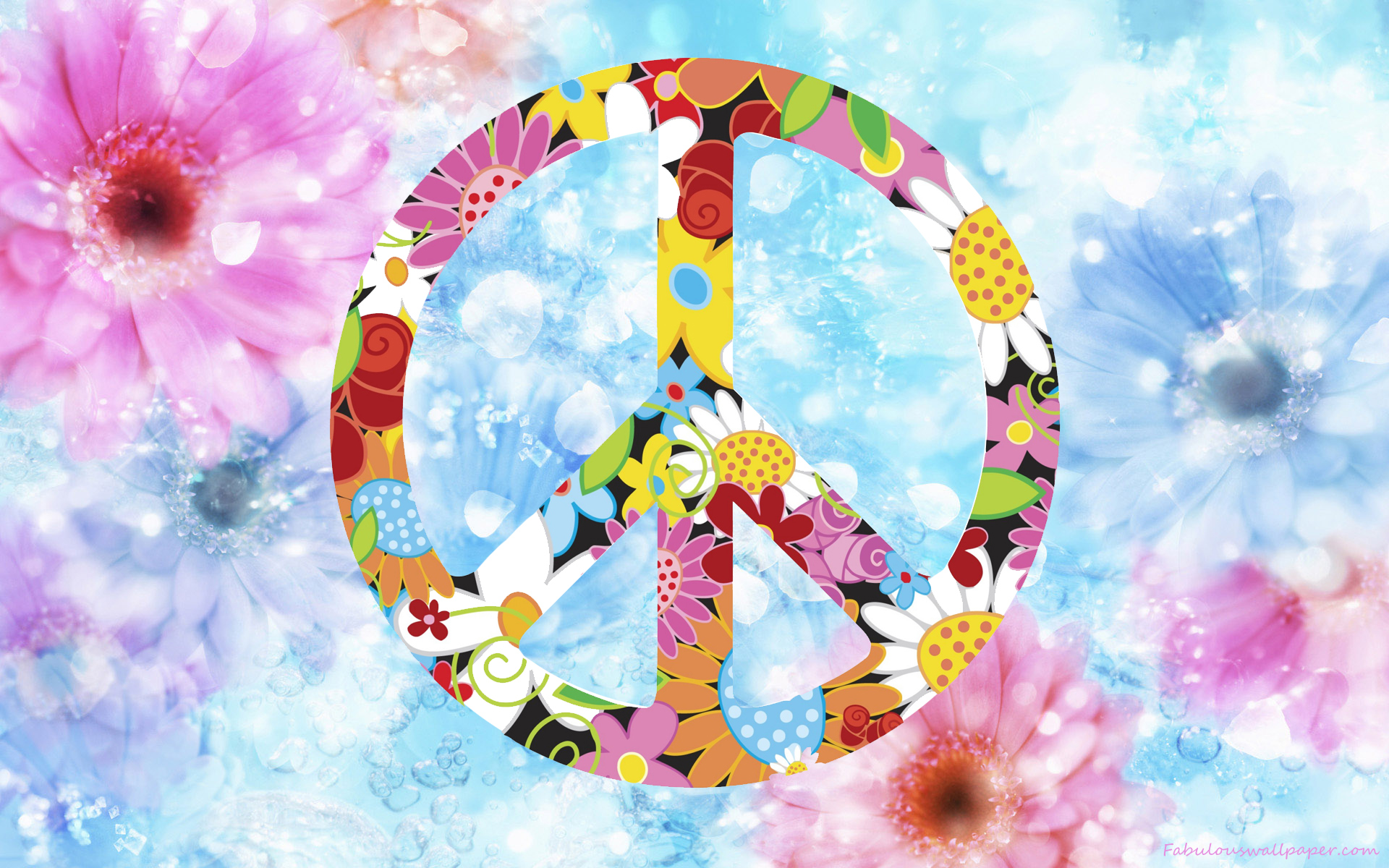 peace your screen resolution to download click on peace day flowers hd 1920x1200