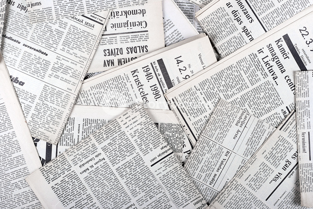 background of old vintage newspapers Royalty  Stock Image 1000x667