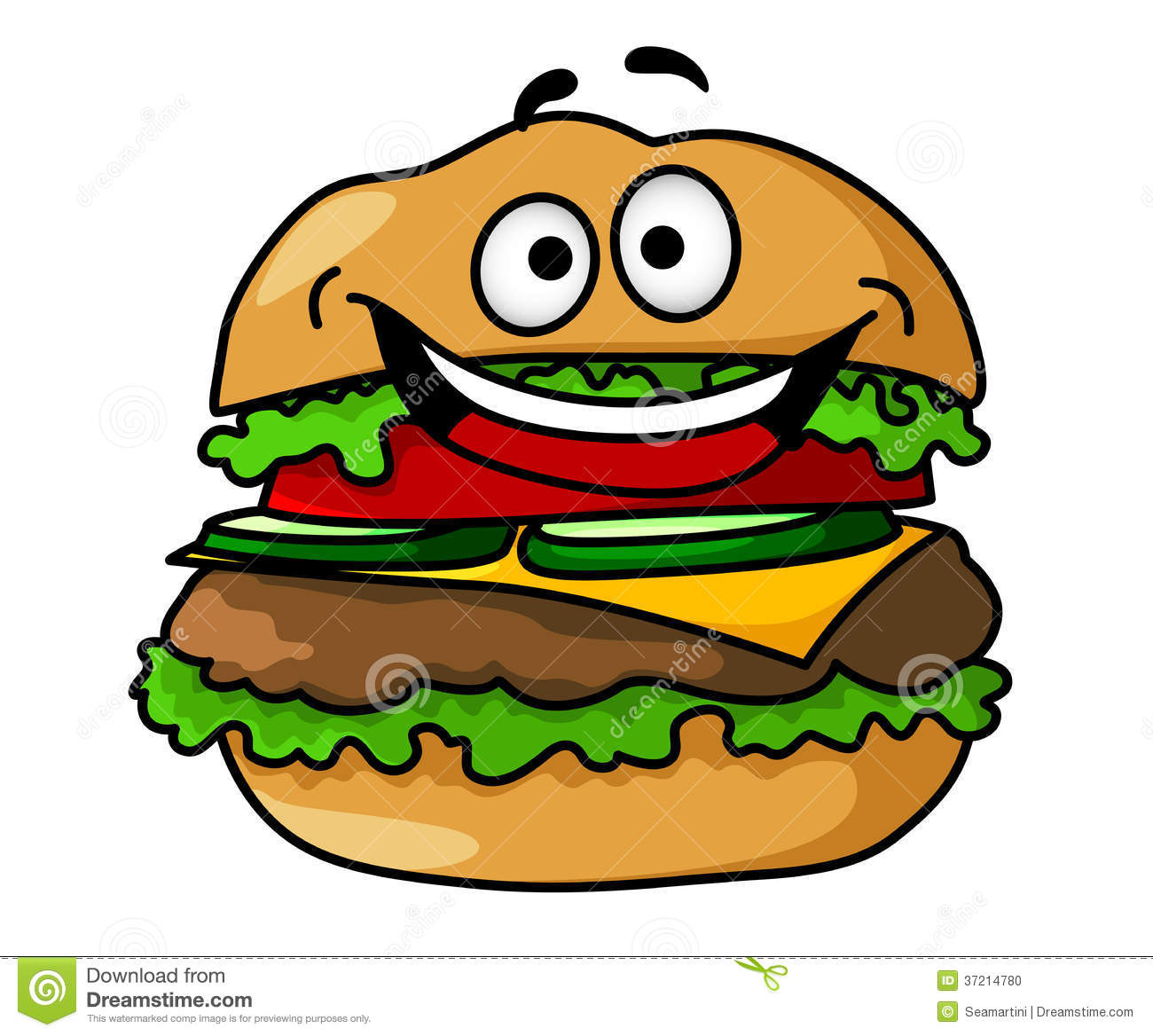 cartoon hamburger wallpaper - photo #13