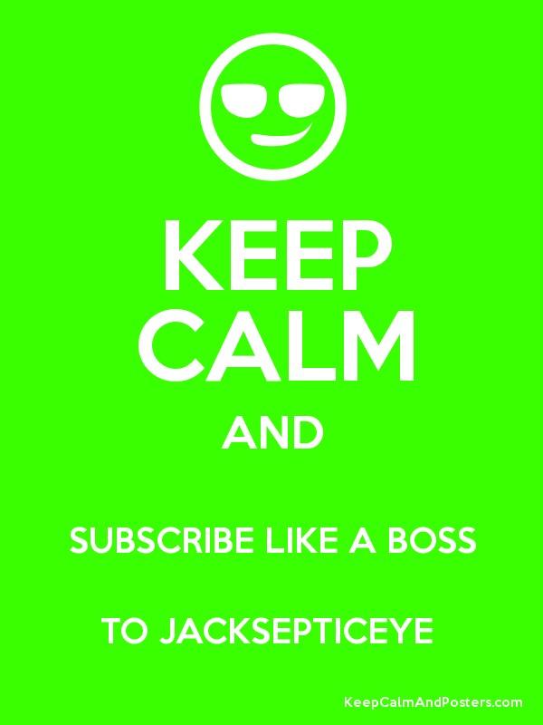 Jacksepticeye Like a Boss Logo 600x800