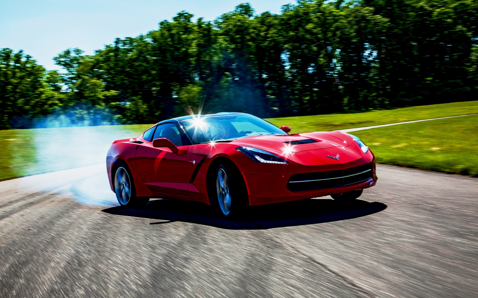 2014 Chevrolet Corvette Stingray Z51 Wallpaper 1920x1200
