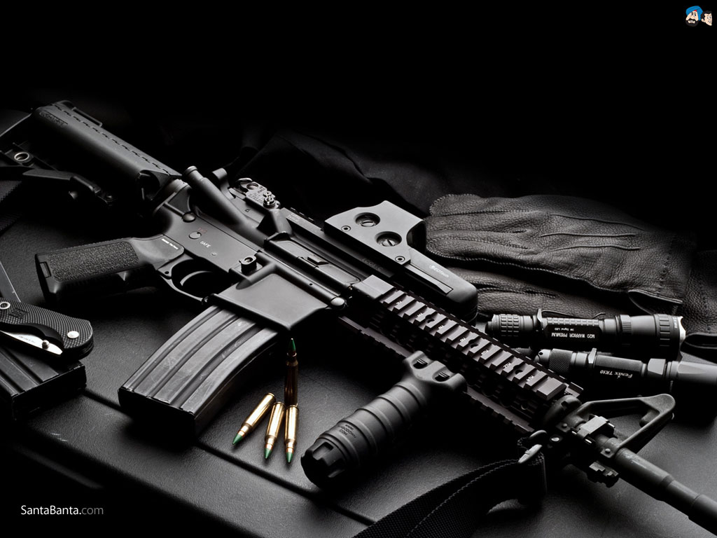 Wallpapers Weapons Guns 1024x768