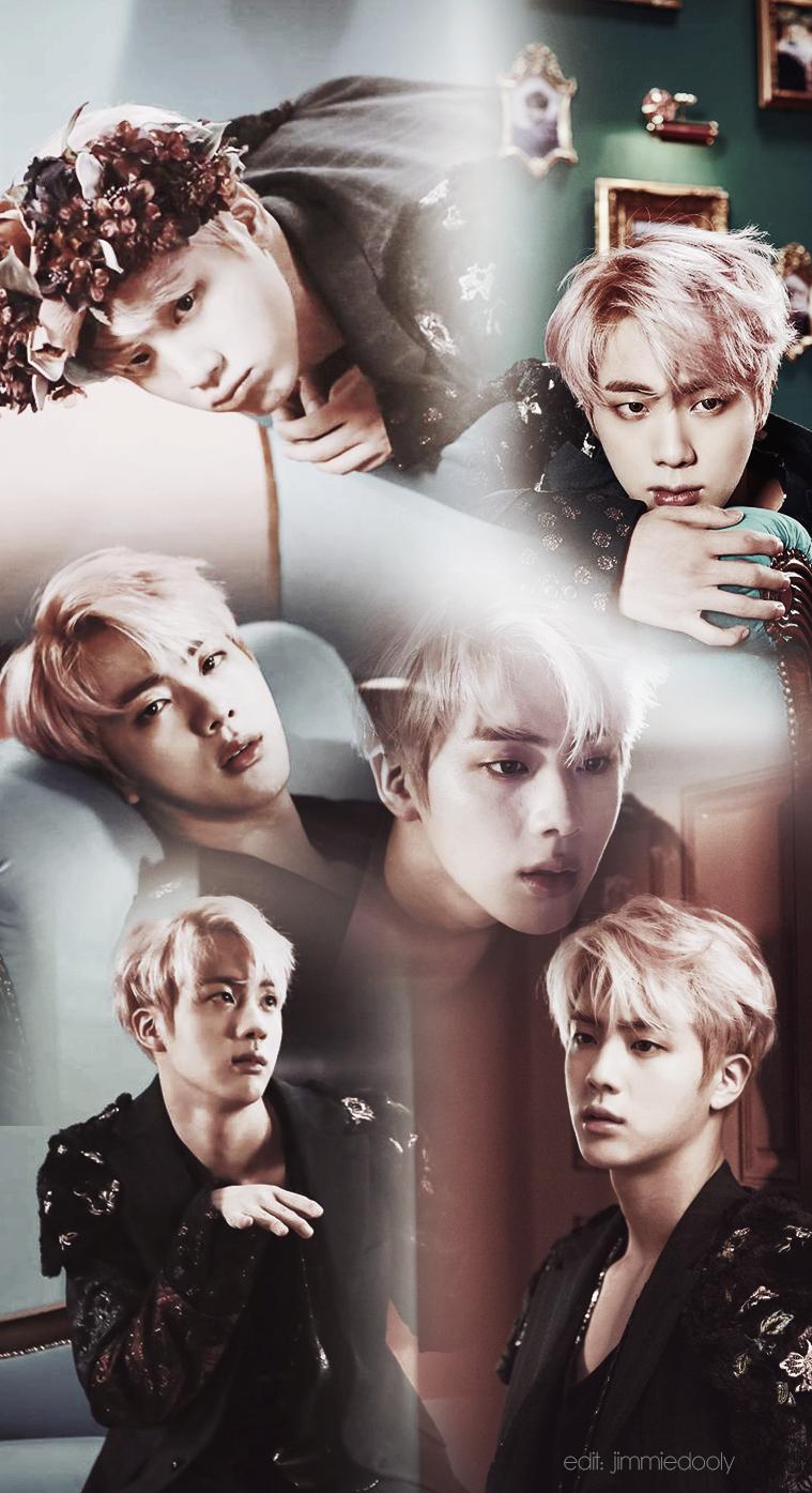 BTS Jin Wallpaper WINGS by jimmiedooly 759x1395
