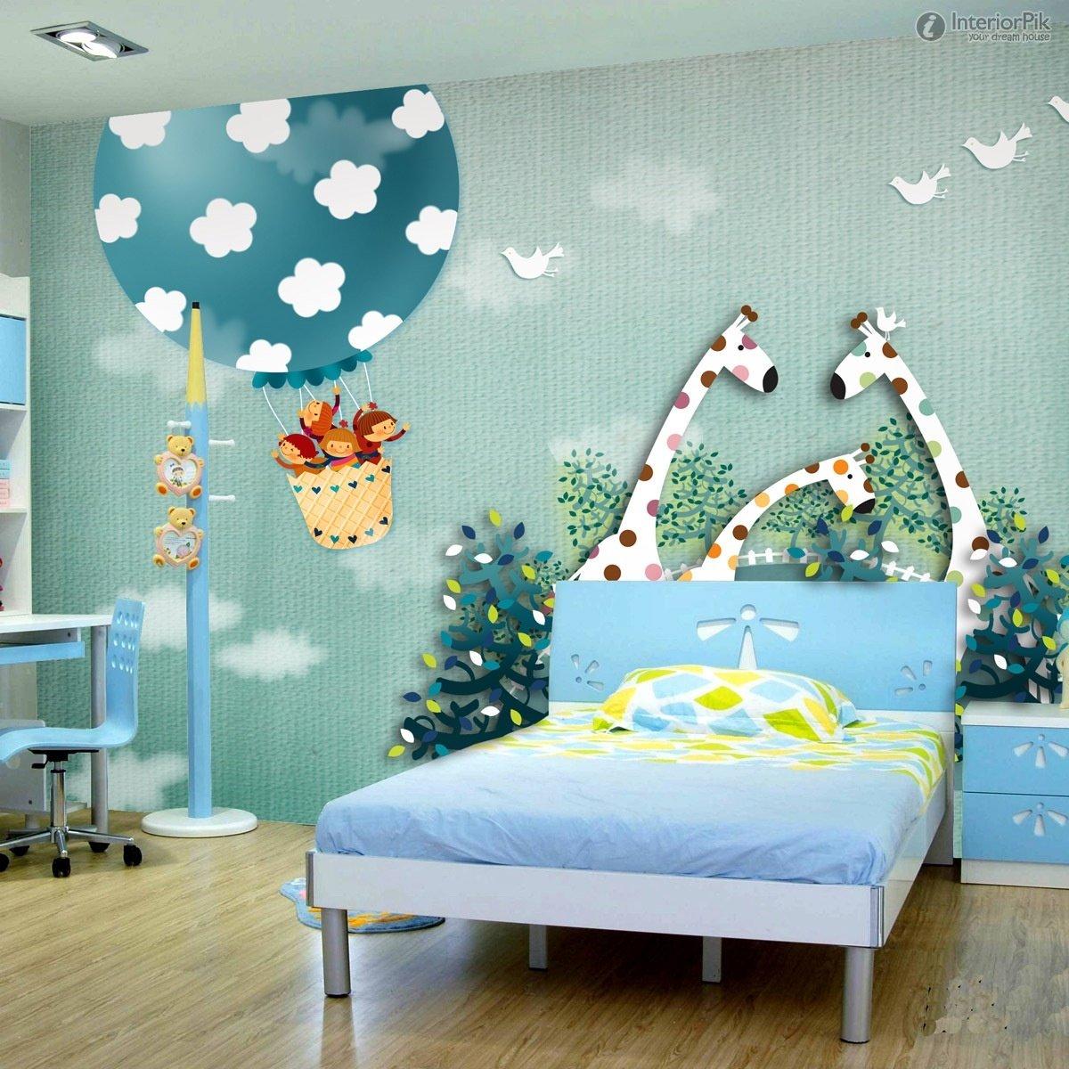 Childrens room bedroom walls wallpaper Minimalist bedroom 1200x1200