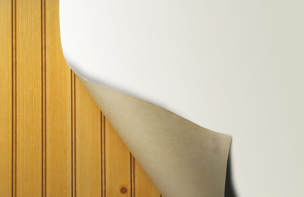 Wallpaper Over Paneling How To 1000x647