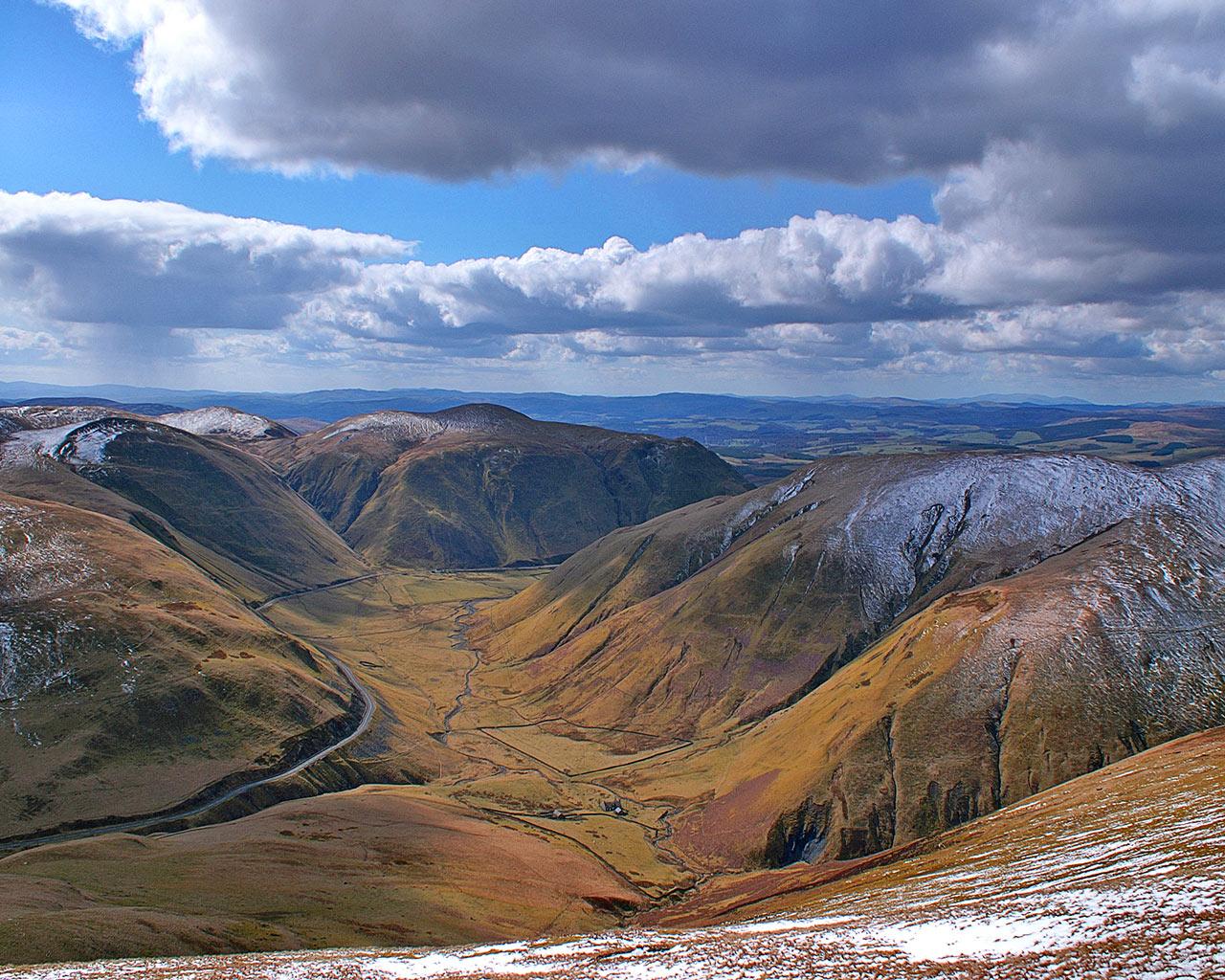 Scotland Scenery Wallpaper Wallpapersafari