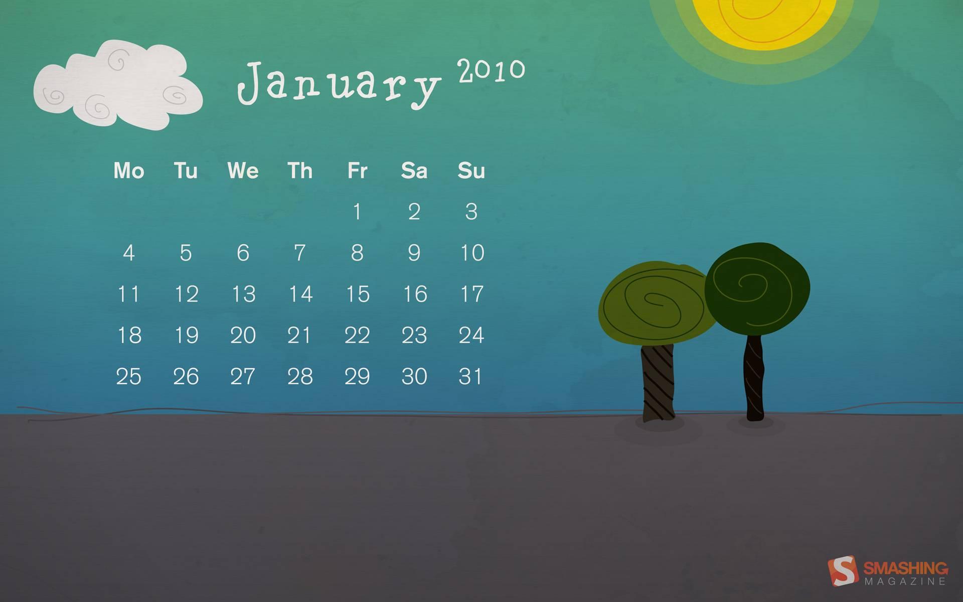 desktopia, ruimte, januari, vriendelijk, kantoor, kalender