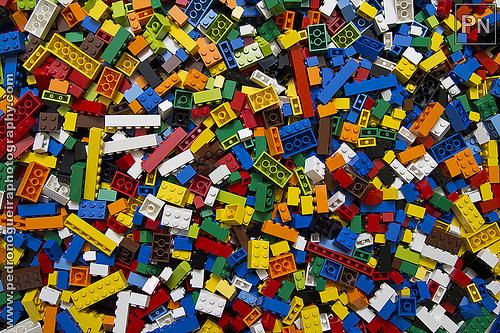 Bedroom Wallpaper Lego