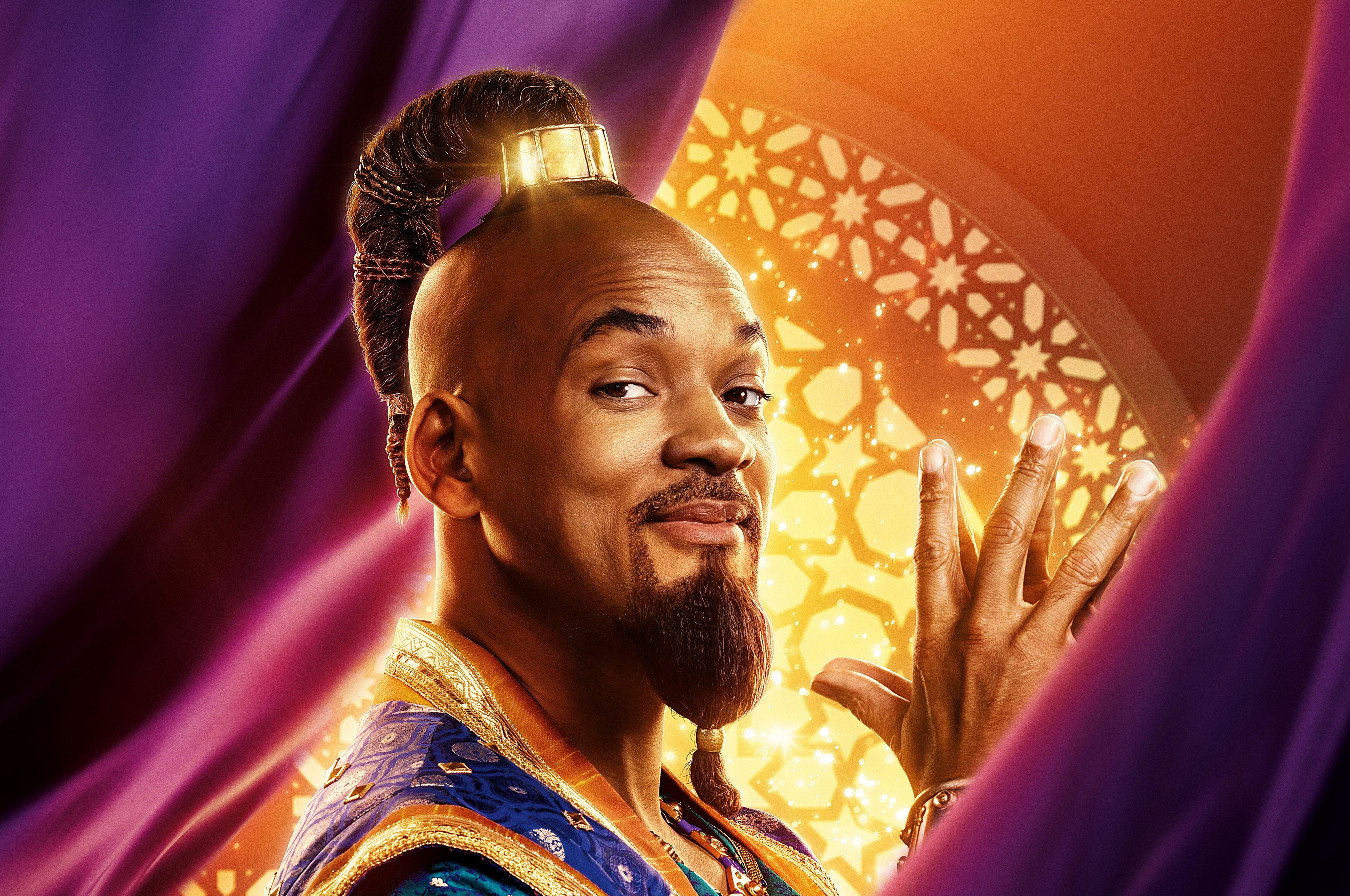 5k Background Will Smith Genie Aladdin 2019 4722 Wallpapers and 5120x3400