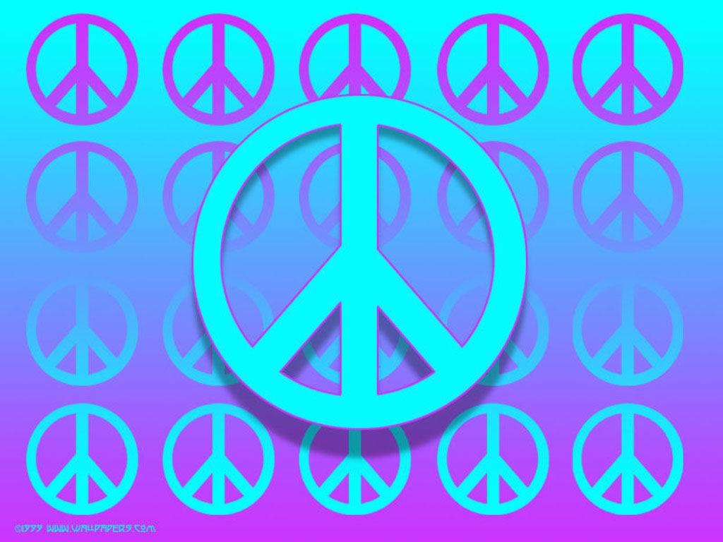 Zebra Peace Sign Backgrounds 1024x768