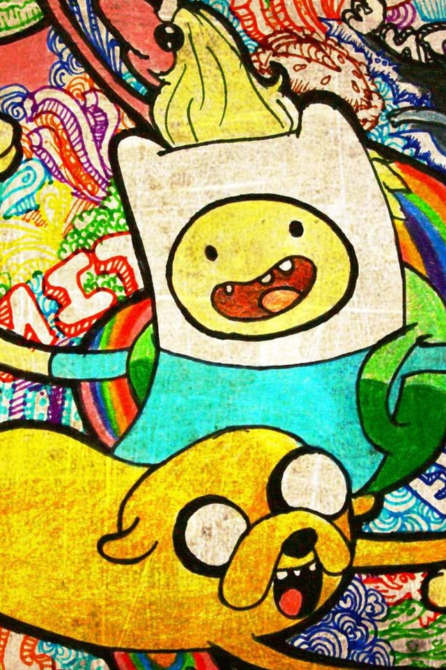 time wallpaper for iphone 4 640 x 1136 jpeg 182kb adventure time 640x960