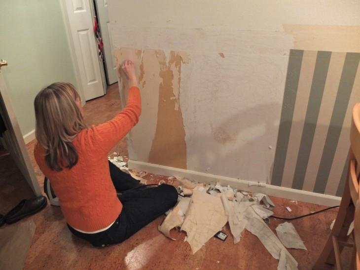 peeling wallpaper 730x547